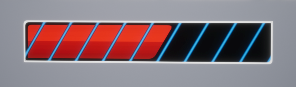 SDF Robo Progress Bars – Imaginary Blend