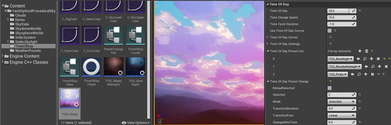 Fast Stylized Procedural Sky – Imaginary Blend